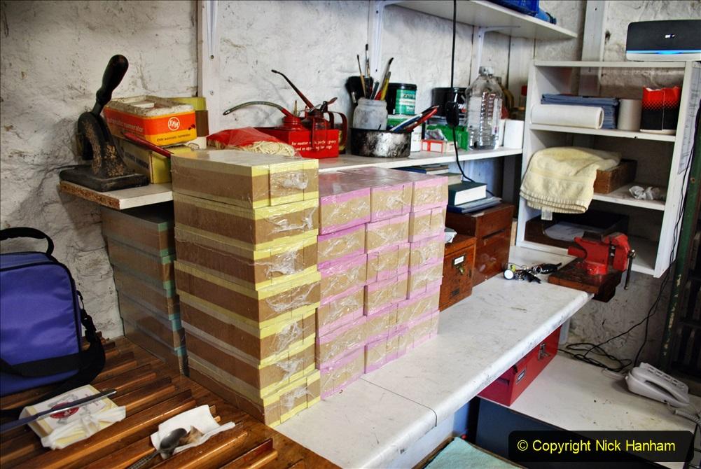 2020-09-10 Swanage & Corfe Castle plus ticket printing machine maintenance. at CC. (64) 064