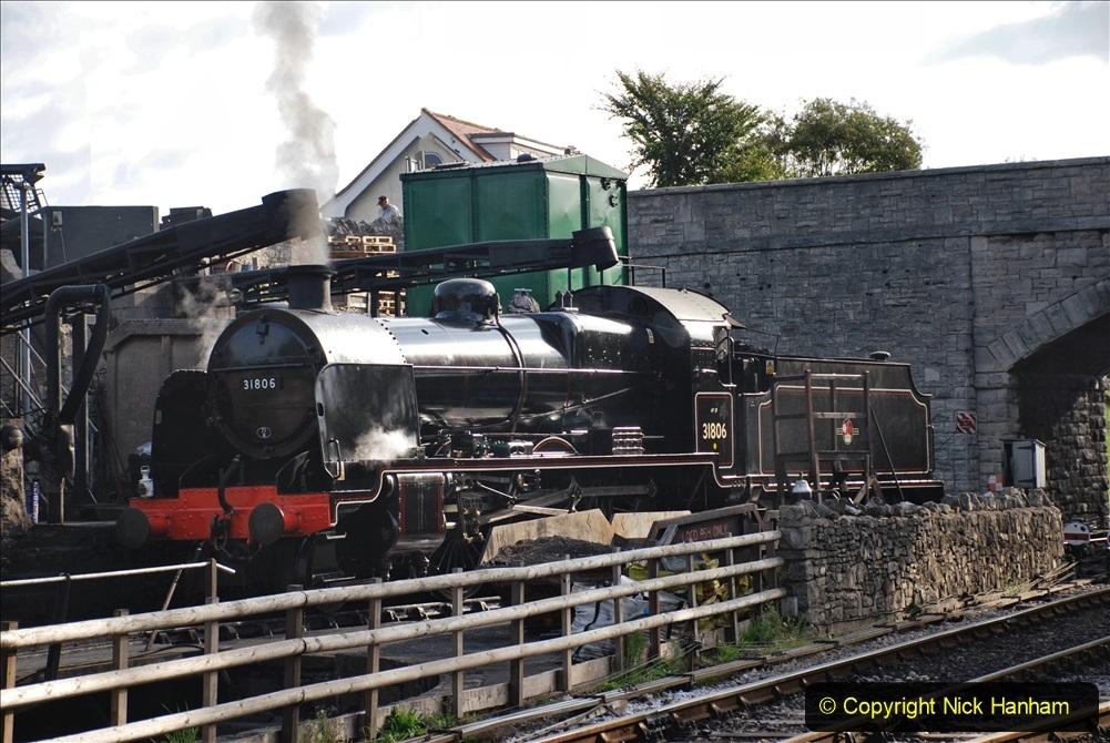 2020-09-10 Swanage and Corfe Castle plus Ticket Printing Machine maintenance.