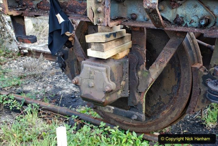 2020-09-10 Swanage & Corfe Castle plus ticket printing machine maintenance. at CC. (12) 012