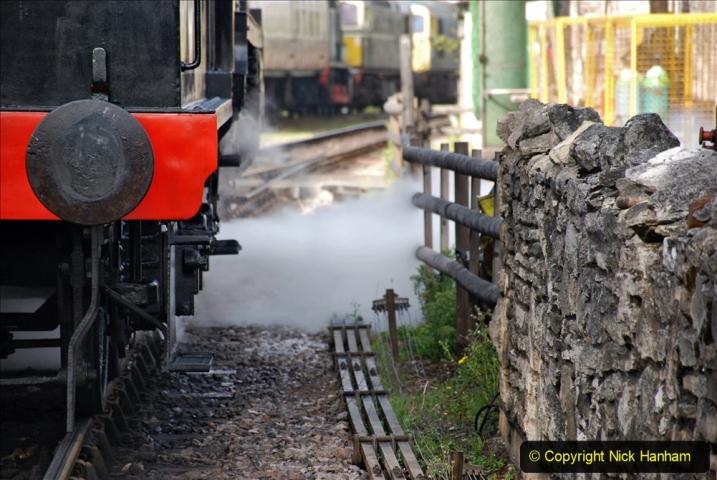 2020-09-10 Swanage & Corfe Castle plus ticket printing machine maintenance. at CC. (28) 028