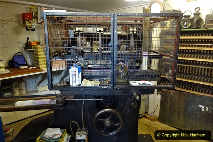 2020-09-10 Swanage & Corfe Castle plus ticket printing machine maintenance. at CC. (46) 046