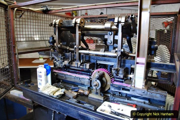 2020-09-10 Swanage & Corfe Castle plus ticket printing machine maintenance. at CC. (48) 048