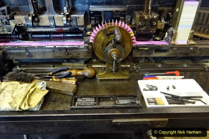 2020-09-10 Swanage & Corfe Castle plus ticket printing machine maintenance. at CC. (50) 050
