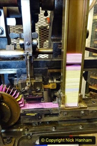 2020-09-10 Swanage & Corfe Castle plus ticket printing machine maintenance. at CC. (51) 051