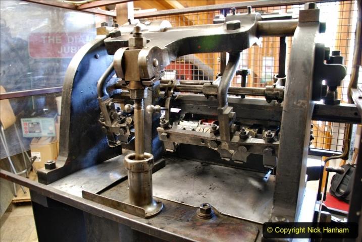 2020-09-10 Swanage & Corfe Castle plus ticket printing machine maintenance. at CC. (55) 055