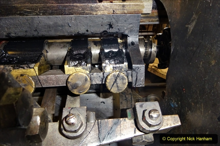 2020-09-10 Swanage & Corfe Castle plus ticket printing machine maintenance. at CC. (59) 059