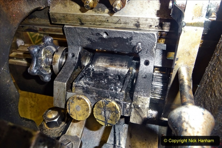 2020-09-10 Swanage & Corfe Castle plus ticket printing machine maintenance. at CC. (60) 060
