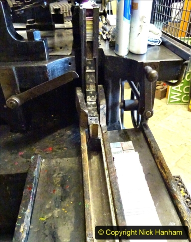 2020-09-10 Swanage & Corfe Castle plus ticket printing machine maintenance. at CC. (61) 061