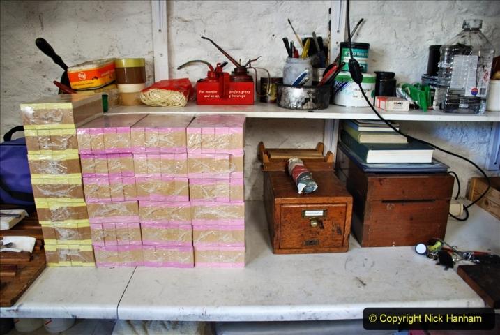 2020-09-10 Swanage & Corfe Castle plus ticket printing machine maintenance. at CC. (63) 063