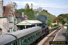2020-09-10 Swanage & Corfe Castle plus ticket printing machine maintenance. at CC. (40) 040