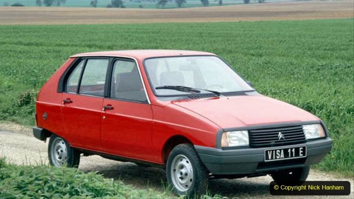 27 Citroen Visa 1978 to 1988. 029