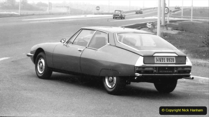 5 Citroen SM 1970 to 1975. 005