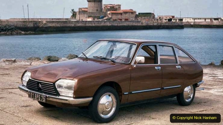 7 Citroen GS 1970 to 1986. 007