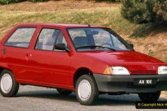 18 Citroen AX 1986 to 1998. 018