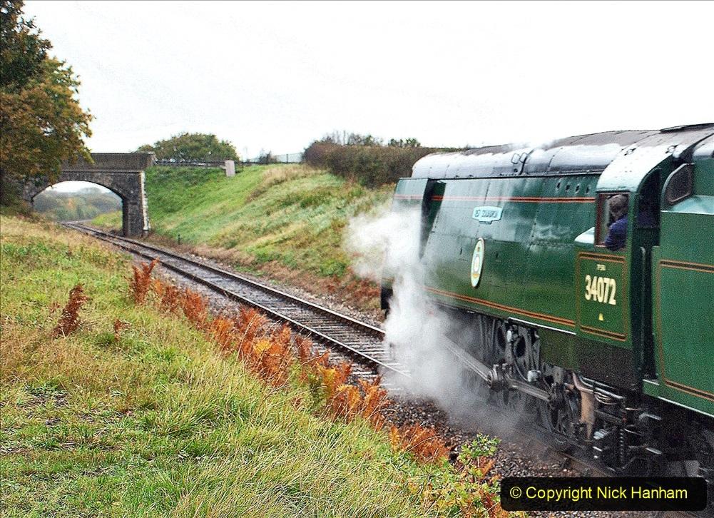 2020-10-30 Half Term week in Dorset on the SR. (56) 056
