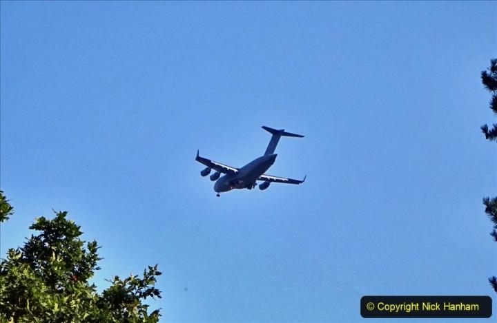 2020-09-05 Globemaster C-17 Over Poole, Doprset. (1) 036