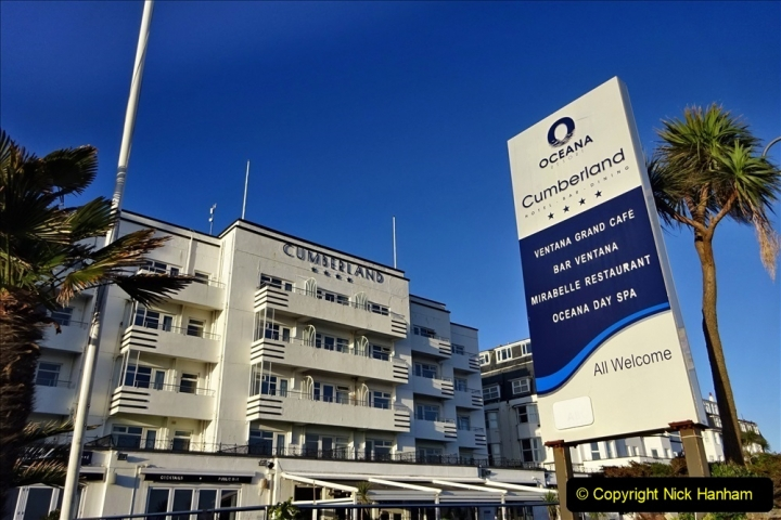 2020-02-20 & 21 Overnight stay in The Cumberland Hotel, Bournemouth, Dorset. (6) 137