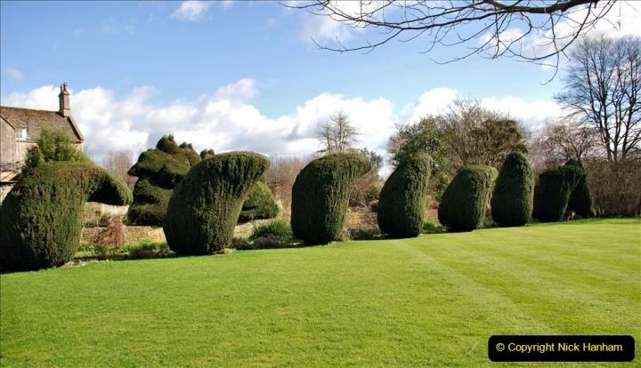 2020-02-27 The Courts Garden (NT) Holt, near Bradford on Avon, Wiltshire. (54) 306