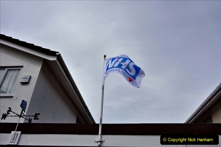 2020-09-11 Flag in support of NHS staff during Covid 19. (5) 376