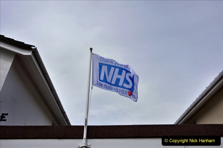2020-09-11 Flag in support of NHS staff during Covid 19. (6) 377