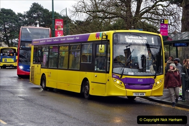 2020 02 18 More Yellow Buses in Bournemouth Dorset (15) 039