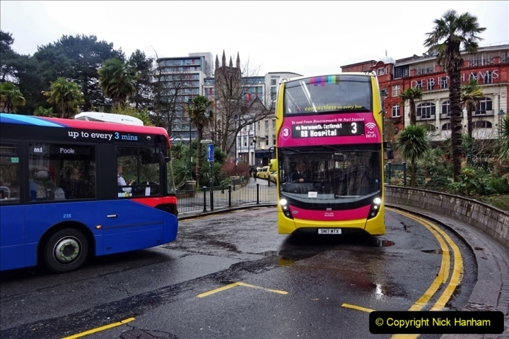 2020 02 18 More Yellow Buses in Bournemouth Dorset (25) 049