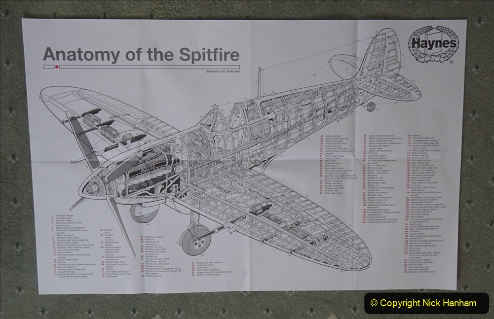 2020 June. Your Host builds a Spitfire. (3) 03