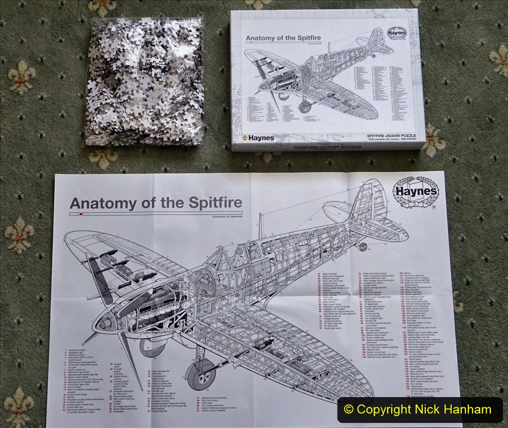 2020 June. Your Host builds a Spitfire. (4) 04