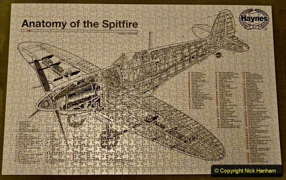 2020 June. Your Host builds a Spitfire. (40) 40