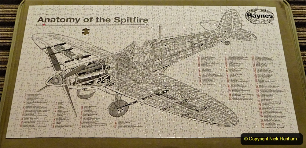 2020 June. Your Host builds a Spitfire. (41) 41