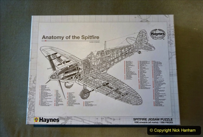 2020 June. Your Host builds a Spitfire. (1) 01