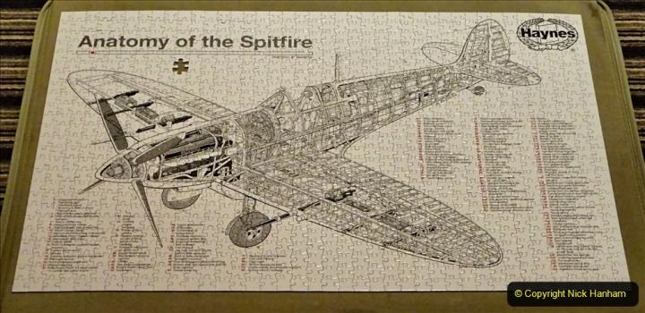 2020 June. Your Host builds a Spitfire. (41) 41