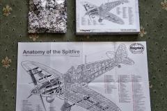 2020 June. Your Host builds a Spitfire. (4) 04