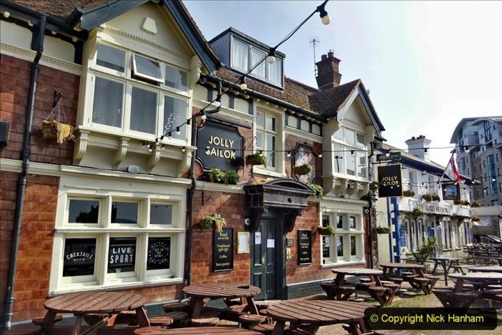 2020 May 09 Covid 19 Walk to Poole Dorset. (105) 105