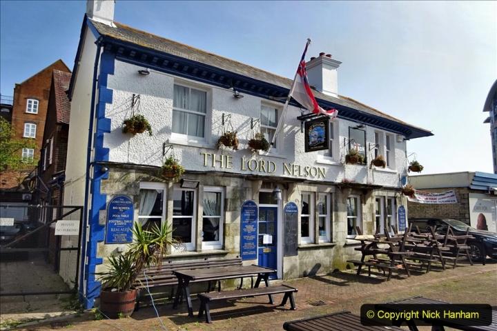 2020 May 09 Covid 19 Walk to Poole Dorset. (109) 109