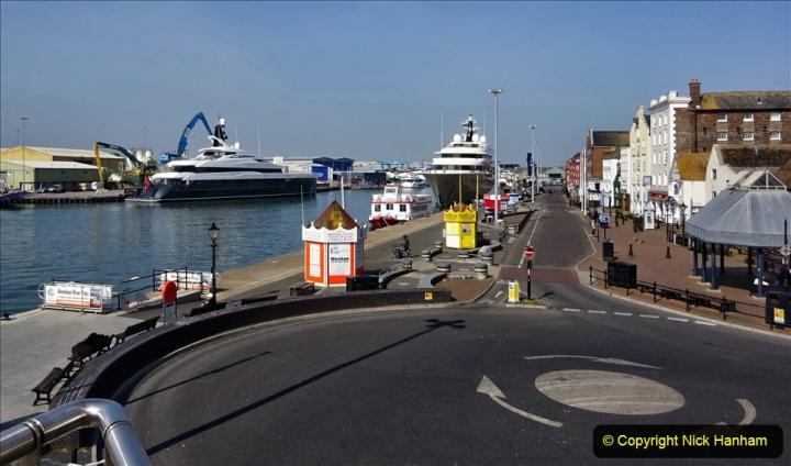 2020 May 09 Covid 19 Walk to Poole Dorset. (116) 116