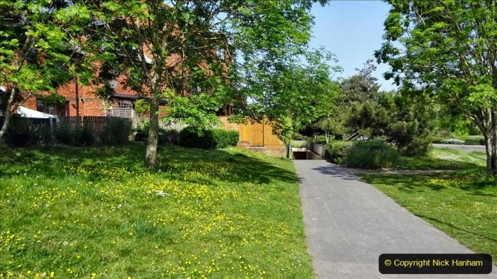 2020 May 09 Covid 19 Walk to Poole Dorset. 135) 135