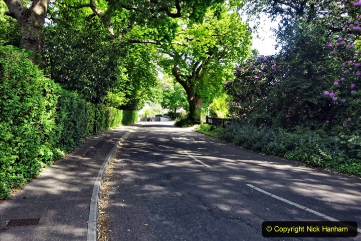 2020 May 09 Covid 19 Walk to Poole Dorset. (152) 152