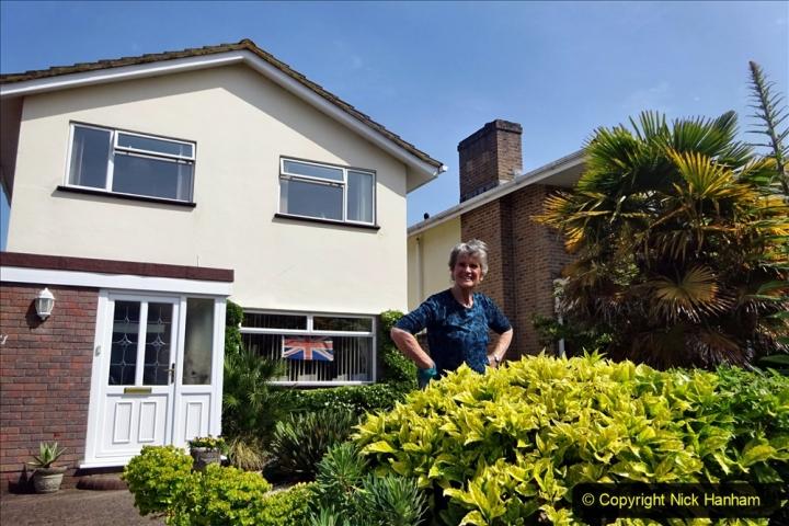 2020 May 09 Covid 19 Walk to Poole Dorset. (154) 154
