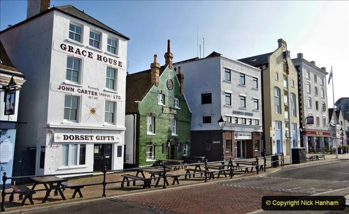 2020 May 09 Covid 19 Walk to Poole Dorset. (41) 041
