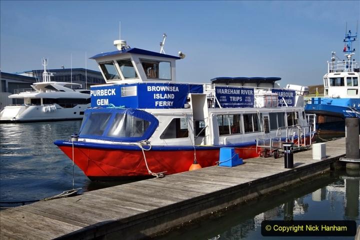 2020 May 09 Covid 19 Walk to Poole Dorset. (65) 065