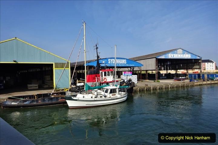 2020 May 09 Covid 19 Walk to Poole Dorset. (78) 078
