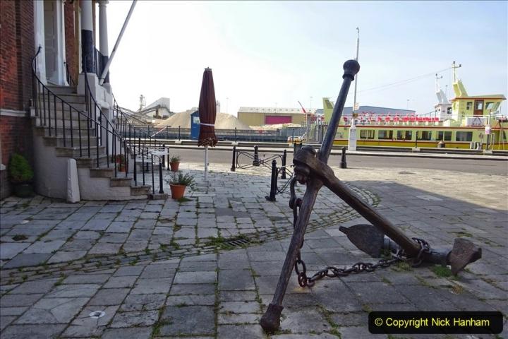2020 May 09 Covid 19 Walk to Poole Dorset. (86) 086