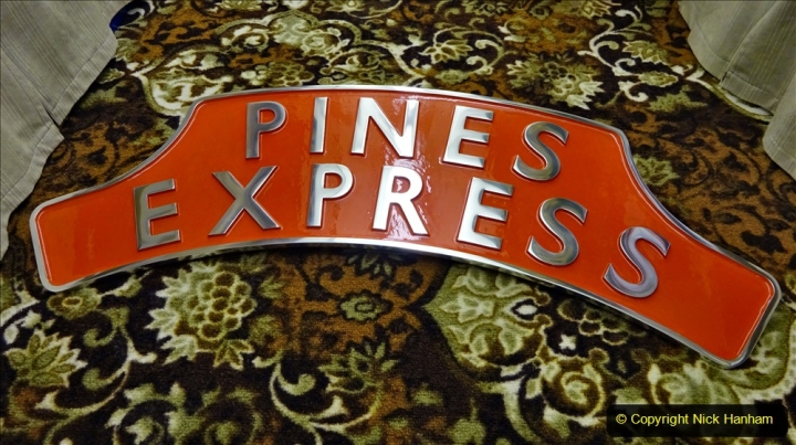 2020-11-13 The Pines Express headboard. (3) 036