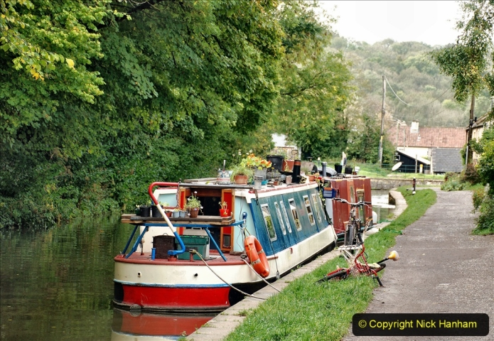 2020-10-01 Covid 19 Visit to The Kennet & Avon Canal in the Bradford on Avon area, Wiltshire. (110) 110