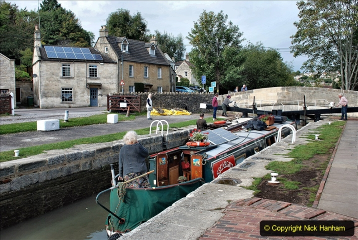 2020-10-01 Covid 19 Visit to The Kennet & Avon Canal in the Bradford on Avon area, Wiltshire. (171) 171