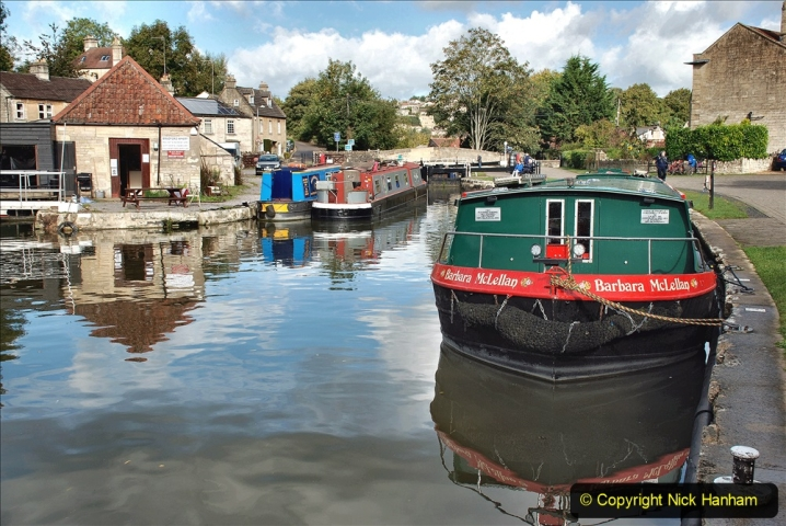 2020-10-01 Covid 19 Visit to The Kennet & Avon Canal in the Bradford on Avon area, Wiltshire. (57) 057