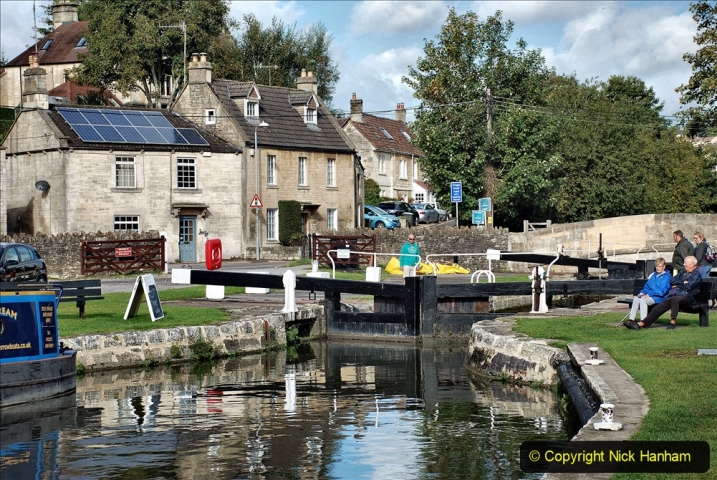2020-10-01 Covid 19 Visit to The Kennet & Avon Canal in the Bradford on Avon area, Wiltshire. (59) 059