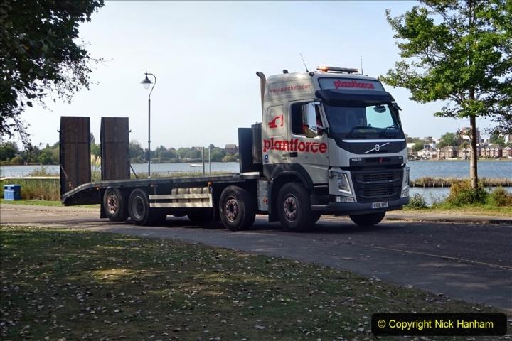 2020-09-17 Poole Park road work, Poole, Dorset. (10) 016