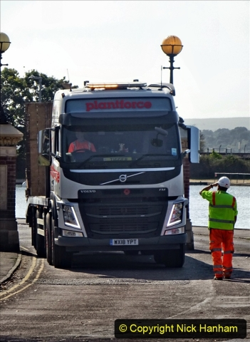 2020-09-17 Poole Park road work, Poole, Dorset. (8) 014